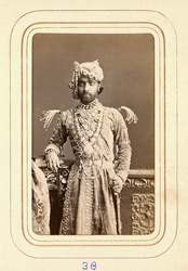 ALWAR: Sheodan Singh, Raja of Alwar (1845-1874). 38